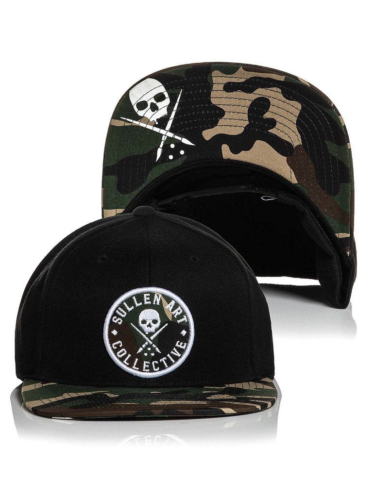 Sullen Men's Woodland Snapback Hat