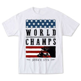 Metal Mulisha Men's World Champs Tee White Front