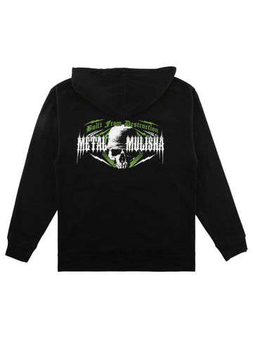 Metal Mulisha Men's Wreck Full Zip Up Hoodie