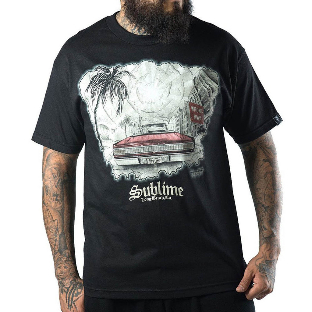 Sullen Men's Wrong Way Sublime Tee
