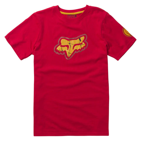 Fox Racing Marvel Iron Man Child's Short Sleeve T-shirt