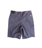 Fatal Clothing Prospect Chino Shorts Charcoal Back