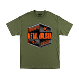 Metal Mulisha Men's Emblem Tee Military Green