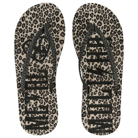 Metal Mulisha Women's Evilution Leopard Sandals