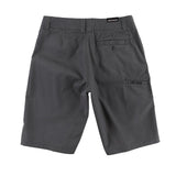 Metal Mulish Men's Ocotillo Walk Shorts Charcoal Grey Back