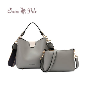 SWISS POLO 2 IN 1 LADIES TOP HANDLE SLING BAG NOVA