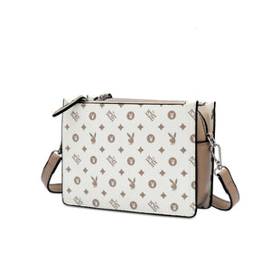 PLAYBOY BUNNY MONOGRAM LADIES SLING BAG DELANEY