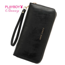 Load image into Gallery viewer, PLAYBOY BUNNY LADIES ZIPPER PURSE CAMERON