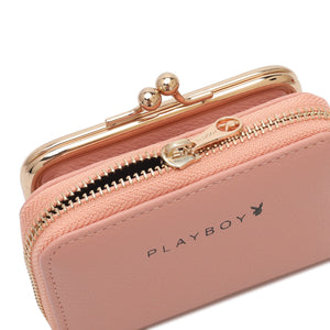 PLAYBOY BUNNY LADIES SHORT PURSE EMMIE