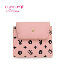 Load image into Gallery viewer, PLAYBOY BUNNY LADIES RFID SHORT PURSE ELSY