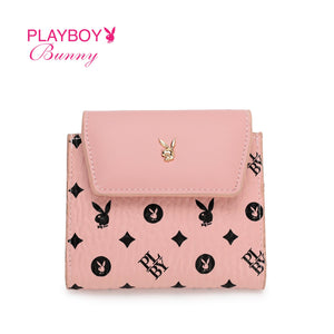 PLAYBOY BUNNY LADIES RFID SHORT PURSE ELSY