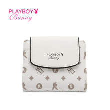 Load image into Gallery viewer, PLAYBOY BUNNY LADIES MONOGRAM SHORT PURSE ELLENA