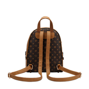 PLAYBOY BUNNY LADIES MONOGRAM BACKPACK CHARLOTTE