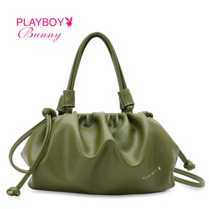PLAYBOY BUNNY LADIES TOP HANDLE/SLING BAG CRYSTAL