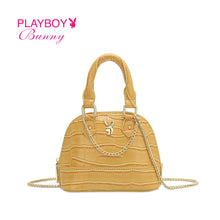 Load image into Gallery viewer, PLAYBOY BUNNY LADIES TOP HANDLE MINI CHAIN SLING BAG DALLAS