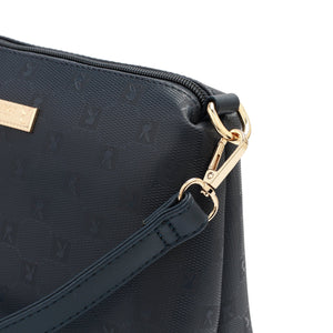 PLAYBOY BUNNY MONOGRAM LADIES SLING BAG EMMA