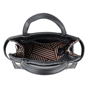 PLAYBOY BUNNY LADIES SLING BAG EVERLY BLACK