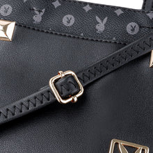 Load image into Gallery viewer, PLAYBOY BUNNY LADIES SLING BAG EVERLY BLACK