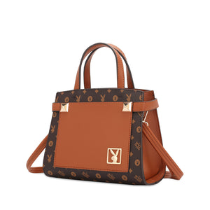 PLAYBOY BUNNY LADIES SLING BAG EVERLY BROWN