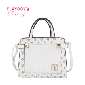 PLAYBOY BUNNY LADIES SLING BAG EVERLY WHITE