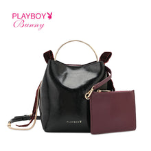 Load image into Gallery viewer, PLAYBOY BUNNY LADIES CHAIN SLING BAG EMORY