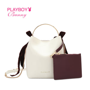 PLAYBOY BUNNY LADIES CHAIN SLING BAG EMORY