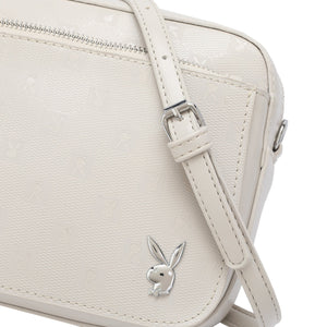 PLAYBOY BUNNY MONOGRAM LADIES SLING BAG EVERLEE