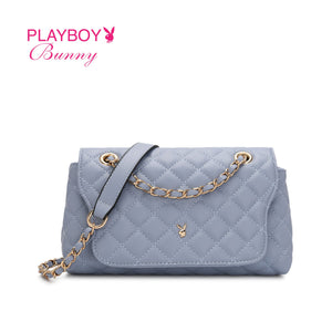 PLAYBOY BUNNY LADIES CHAIN SLING BAG ELINA