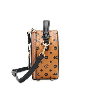 PLAYBOY BUNNY LADIES TOP HANDLE MONOGRAM SLING BAG ELISSA