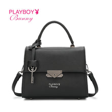 Load image into Gallery viewer, PLAYBOY BUNNY LADIES TOP HANDLE SLING BAG EMI