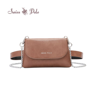 SWISS POLO LADIES CHAIN SLING BAG/WAIST BAG PROMISE
