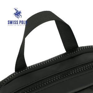 SWISS POLO SLING BAG SXB 121-1 BLACK