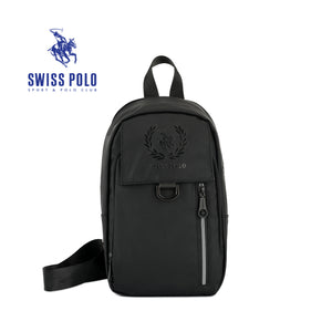 SWISS POLO CHEST BAG SXE 7107-1 BLACK