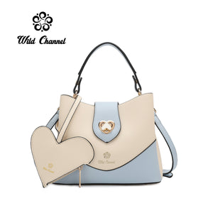 WILD CHANNEL 2 IN 1 LADIES TOP HANDLE SLING BAG HEAVEN