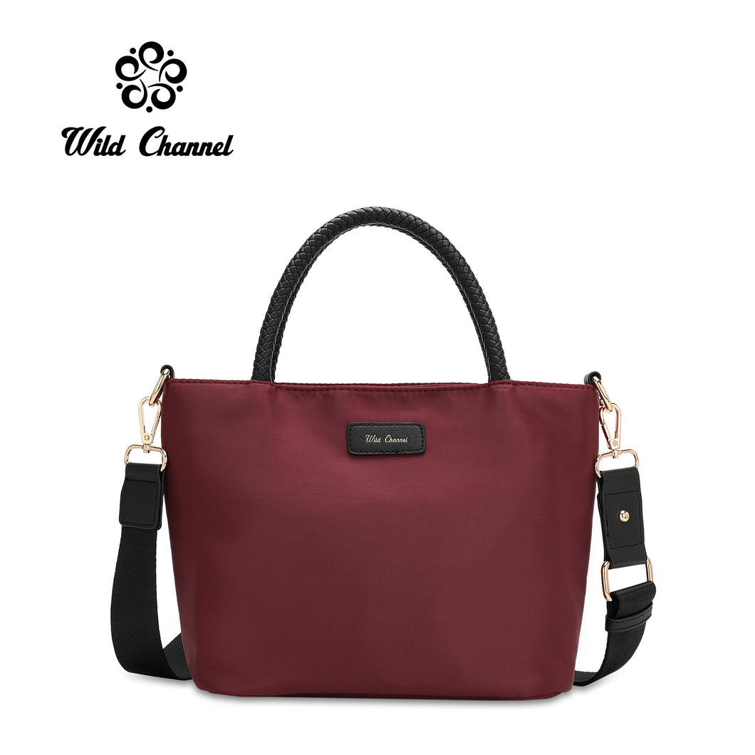 WILD CHANNEL LADIES WATER RESISTANT TOP HANDLE SLING BAG HARLEE