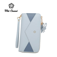 Load image into Gallery viewer, WILD CHANNEL LADIES RFID LONG PURSE FELICITY