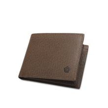 Load image into Gallery viewer, WILD CHANNEL GENUINE LEATHER RFID SHORT WALLET NW 001-5 KHAKI