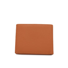 Load image into Gallery viewer, WILD CHANNEL GENUINE LEATHER RFID SHORT WALLET NW 002-6 LIGHT BROWN