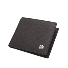 Load image into Gallery viewer, WILD CHANNEL GENUINE LEATHER RFID SHORT WALLET NW 004-6 DARK BROWN