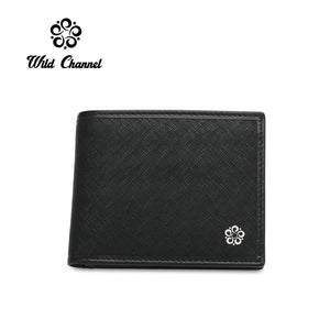 WILD CHANNEL RFID SHORT WALLET NW 005-2 BLACK