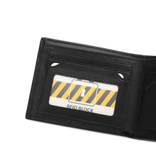 Load image into Gallery viewer, WILD CHANNEL RFID SHORT WALLET NW 005-2 BLACK