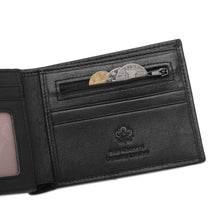 Load image into Gallery viewer, WILD CHANNEL RFID SHORT WALLET NW 006-5 BLACK