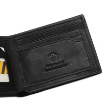 Load image into Gallery viewer, WILD CHANNEL RFID BLOCKING SHORT WALLET NW 008-2 BLACK