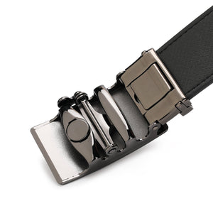 PLAYBOY 35MM AUTOMATIC BELT PAB 328-2 BLACK