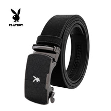Load image into Gallery viewer, PLAYBOY 35MM AUTOMATIC BELT PAB 332-1 BLACK