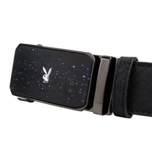 Load image into Gallery viewer, PLAYBOY 35MM AUTOMATIC BELT PAB 332-2 BLACK