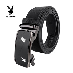 PLAYBOY 35MM AUTOMATIC BELT PAB 332-3 BLACK