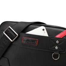 Load image into Gallery viewer, PLAYBOY GENUINE LEATHER SLING BAG PKE 9203 BLACK