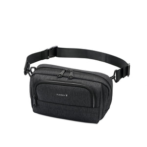 PLAYBOY WATER RESISTANCE SLING BAG/CROSSBODY BAG PKY 8527-3 BLACK