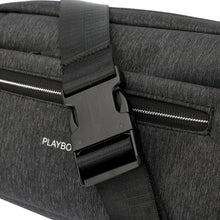 Load image into Gallery viewer, PLAYBOY WATER RESISTANCE SLING BAG/CROSSBODY BAG PKY 8527-2 BLACK